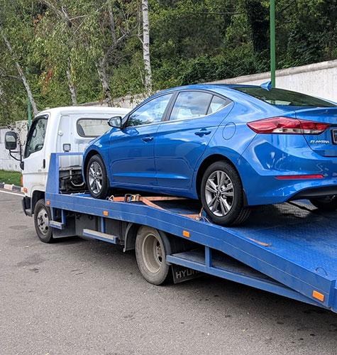 Транспортировка легковых авто в Москве
